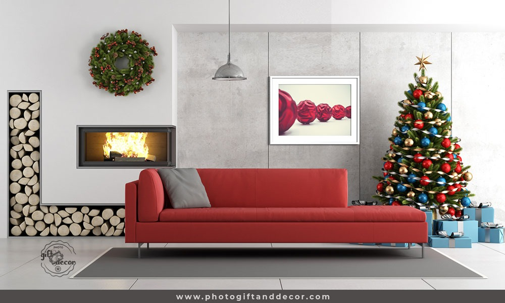 christmas wall decorations for living room